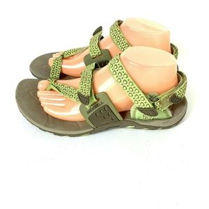 Merrell Waterpro Simarron Lime Sandals Womens 9